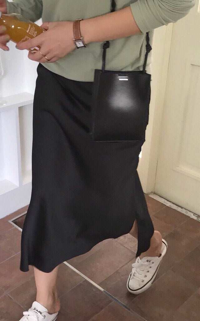 Autumn Silky Skirt