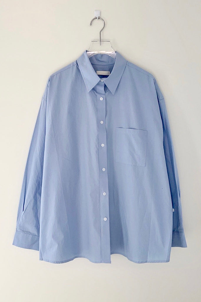 Overlap Button Shirt