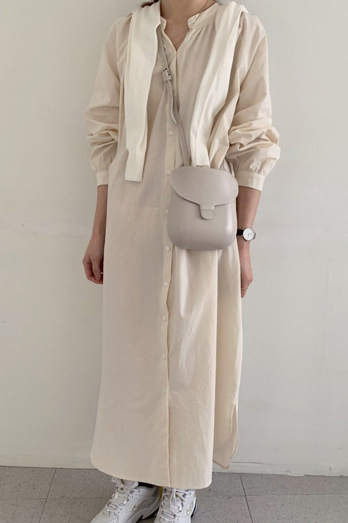 Warm Long Shirt Dress