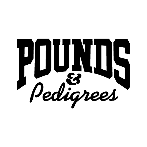 pounds and pedigrees parody pet streetwear=