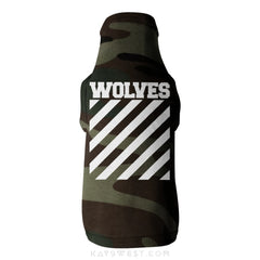 Wolves Logo Tank Xs / Camo Pet Apparel