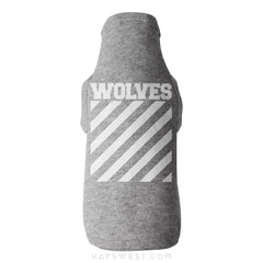 Wolves Logo Tank Xs / Grey Pet Apparel