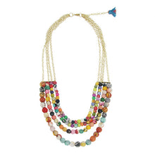Load image into Gallery viewer, Kantha 4-Strand Necklace - Cause-ology