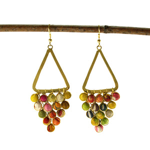 Kantha Chandelier Earrings - Cause-ology