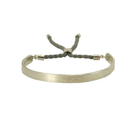 Tethered Bangle - Silver - Cause-ology