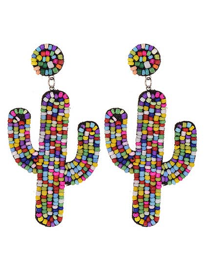 Cactus Me Away Earrings - Cause-ology