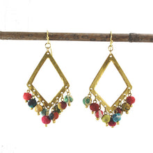 Load image into Gallery viewer, Kantha Kite Earrings - Cause-ology