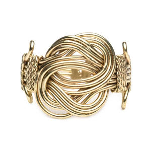 Infinity Knot Ring - Gold - Cause-ology