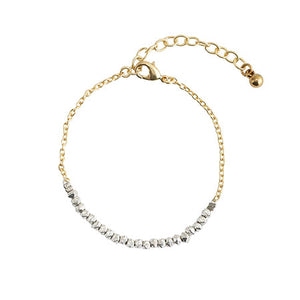 Tribal Fresh - Morning Dew Bracelet - Silver - Cause-ology