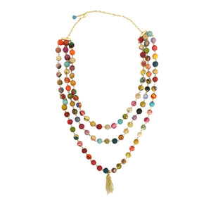 Kantha Tiered Necklace - Cause-ology