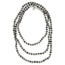 Load image into Gallery viewer, Kantha Noir Necklace - Cause-ology