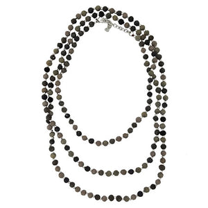 Kantha Noir Necklace - Cause-ology