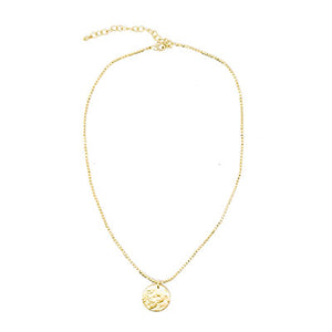 Gold Coin Necklace - Cause-ology