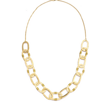 Load image into Gallery viewer, Gold Link Necklace - Cause-ology
