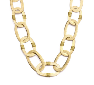 Gold Link Necklace - Cause-ology