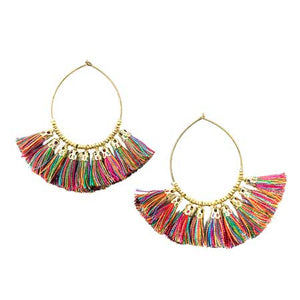 Tribal Fresh - Raja Hoop Earrings - Cause-ology