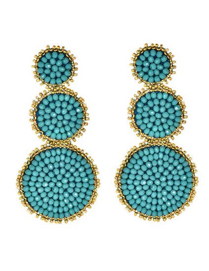 Turquoise Waters Earrings - Cause-ology