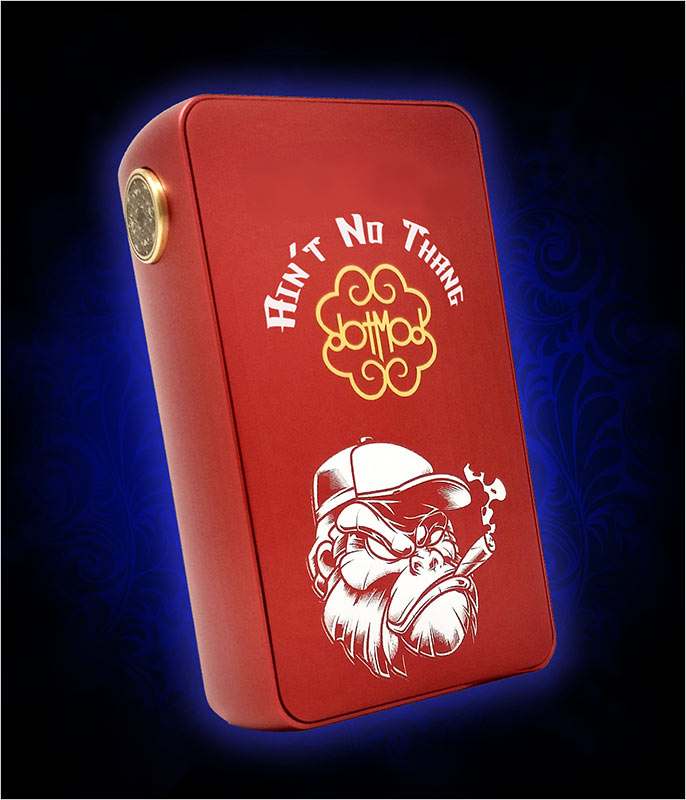 DotSquonk with Gangsta Gorilla Graphic and Text