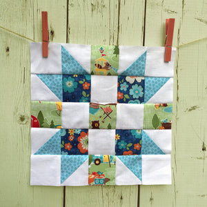 Meet the Makers Quilt Along and Block #1