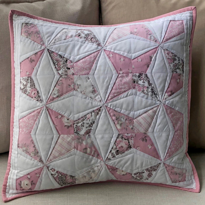 Rose Garden fabric, a pretty pillow and place mats