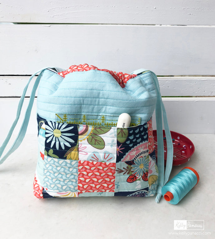 Project Bag with Sew Retro Fabric