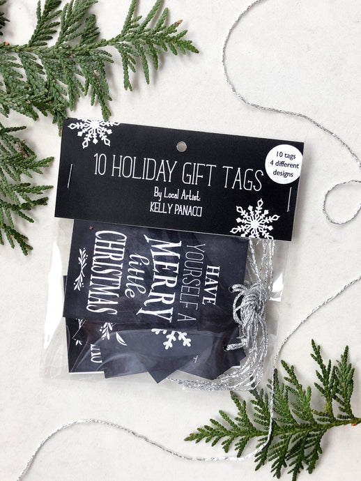 Holiday Tags - 10 Pack - CAN$