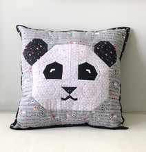 Panda Love Mini Quilt or Pillow Cover Fabric Kit (Fabric Only)