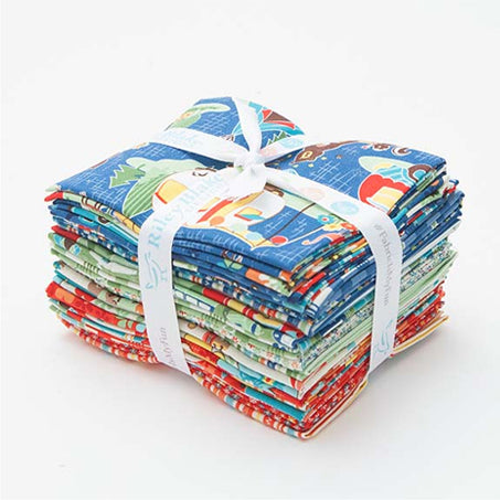 100% Cotton Fabric, Quilting fabric, Camping Fabric, fat quarter bundle