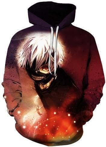 Anime Hoodies - Danger Time - Tokyo Ghoul Clothing