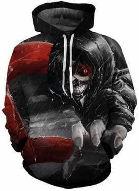 Anime Hoodies - Evil Grab - Tokyo Ghoul Clothes