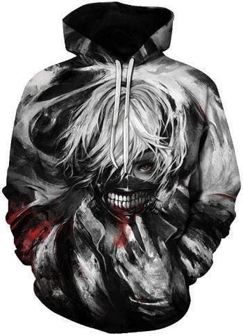 Anime Hoodies - Soul Snatch - Tokyo Ghoul Merchandise