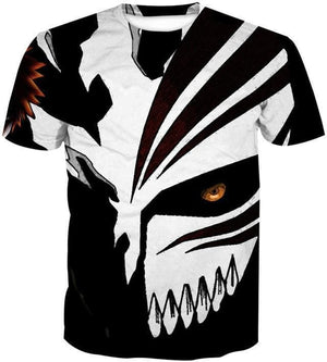 Anime T-Shirts - 3D Evil Face - Bleach Shirts