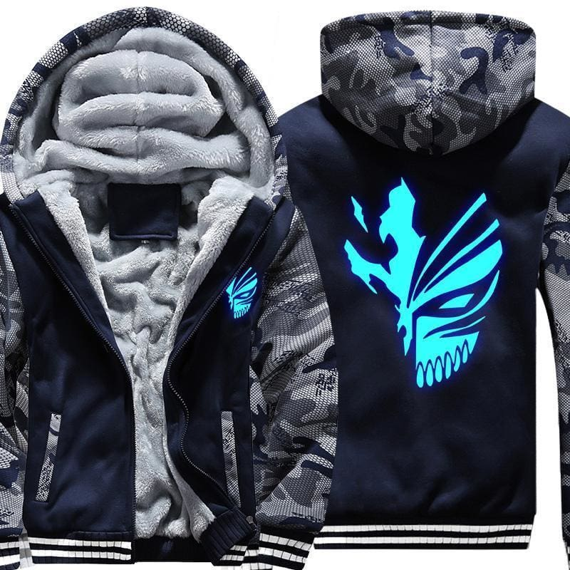 Bleach Jackets - Glowing Ichigo Kurosaki Coat - Anime Clothes