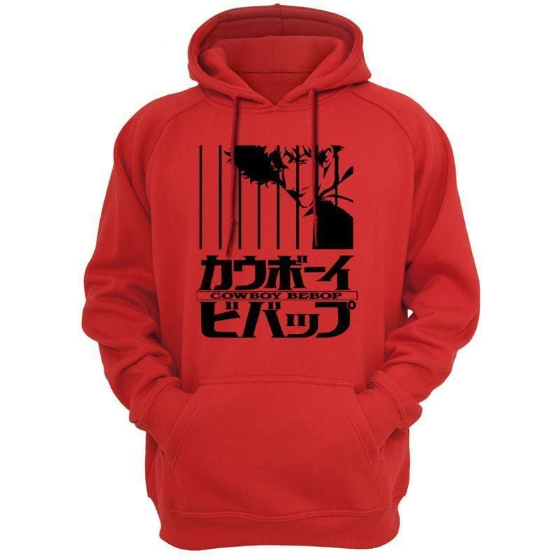 Cowboy Bebop Merch - Logo DesIgn Hoodie - Bebop Clothing