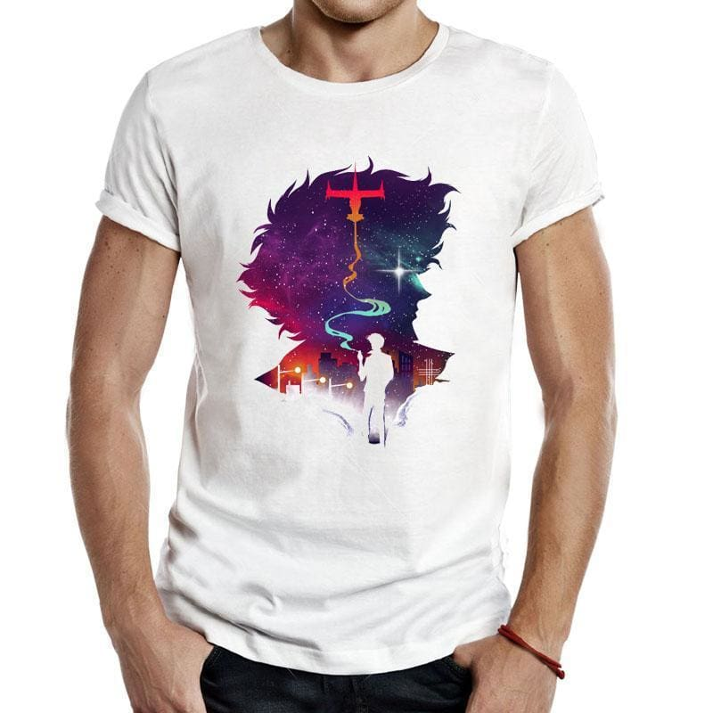 Cowboy Bebop Shirts - Spike Spiegel Shadows - Bebep Clothing