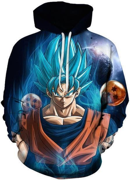Dragon Ball 3D - Goku and Dragonballs - DBZ Hoodie