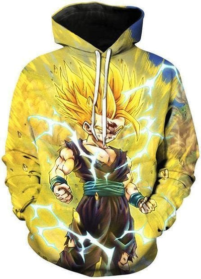 Dragon Ball 3D - Goku Super Saiyan - DBZ Hoodie
