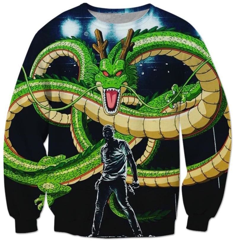 Dragon Ball Super - 3D Dragon - Dragon Ball Z Sweatshirts