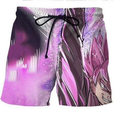 Dragon Ball Super - Black Goku Saiyan Shorts - Anime Clothes