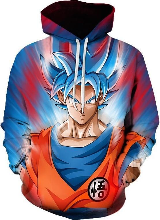 Dragon Ball Super - Blue Goku - DBZ Hoodie