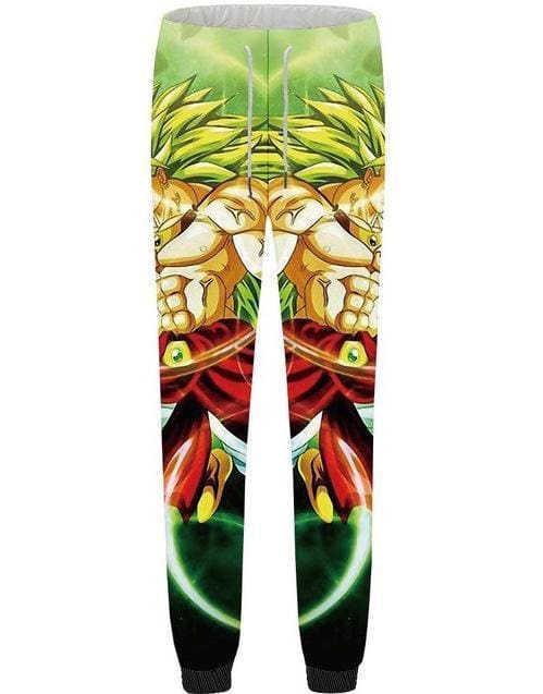 Dragon Ball Super - Broly Super Saiyan Sweatpants - Anime Clothes