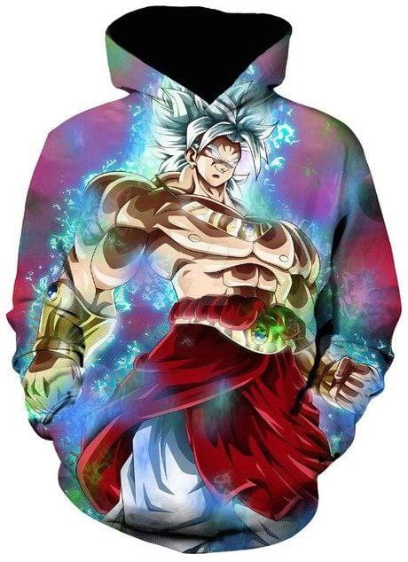 Dragon Ball Super Clothes - Broly - Dragon Ball Hoodies