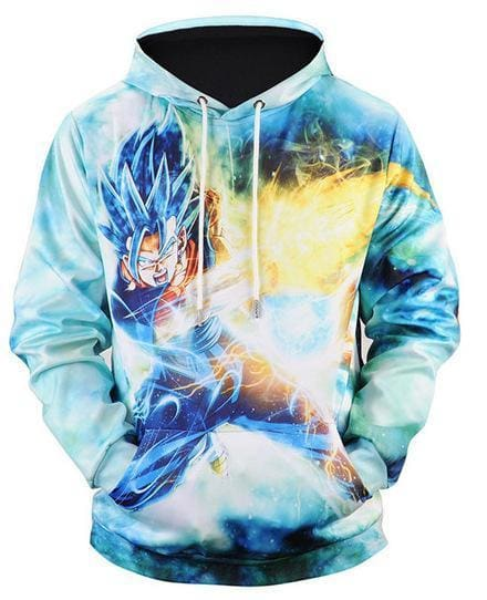 Dragon Ball Super - Goku Fireball - Dragon Ball Z Hoodies