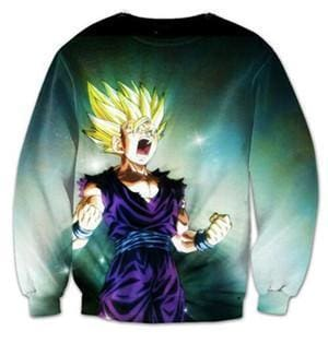 Dragon Ball Super - Goku Rage Jumper - Dragon Ball Z Sweatshirts