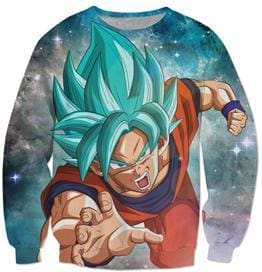 Dragon Ball Super - Goku Saiyan Attack - Dragon Ball Z Sweatshirts