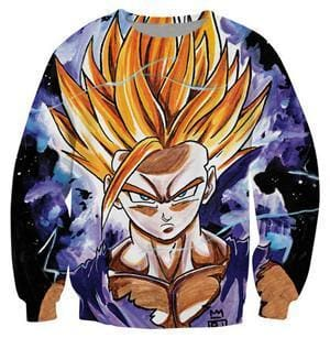 Dragon Ball Super - Goku Super Saiyan - Dragon Ball Z Sweatshirts
