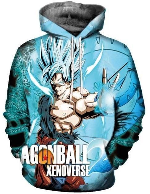 Dragon Ball Super - Goku Xenoverse - Dragon Ball Z Hoodies
