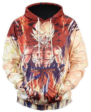 Dragon Ball Super - Goku - Dragon Ball Z Hoodies