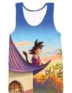 Dragon Ball Super - Kid Goku Tank Top - Anime Clothes