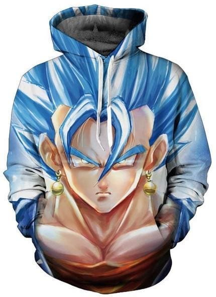 Dragon Ball Super - Super Saiyan - Dragon Ball Z Hoodies